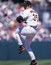 1999 Baltimore Orioles MIKE MUSSINA Glossy 8x10 Photo Baseball Print Poster
