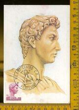 Repubblica F.D.C. Cartolina Maximum ad 724 1000 lire Donatello