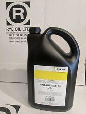 VINTAGE CLASSIC SAE 50 ENGINE OIL 5 LITRE 5L