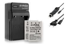 2 Akkus EN-EL5 ENEL5 + Ladegerät für Nikon Coolpix 7900, P3, P4, P80, P90