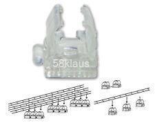 10x Halteclips Befestigungs-Clips Halter / 10er Pack Halterung LED Lichtschlauch