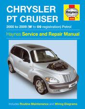 H4058 Chrysler PT Cruiser Petrol (2000 to 2009) Haynes Repair Manual