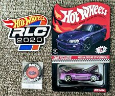 Hot Wheels 2020 RLC Nissan Skyline GT-R BNR34 with Patch and Pin