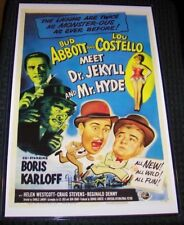Abbott and Costello Meet Dr. Jekyll and Mr. Hyde 11X17 Universal Movie Poster