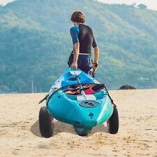 Soozier Dolly Trailer Tote Rolling Kayak Cart Canoe Carrier Trolley Wheel