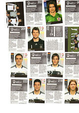 10 Panini Sticker EM 2008 aus 497 aussuchen (3) (Made in Brazil)