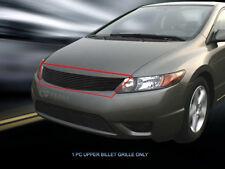 Fedar Main Upper Billet Grille For 2006-2008 Honda Civic Coupe - Black