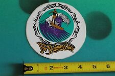 New listing For Madmen Only Tribal Hawaii Longboard Wave Surf Fusion Vintage Surfing Sticker