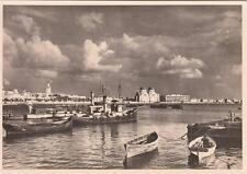 A7255) LIBIA, BENGASI, VEDUTA DAL MOLO. N. 1 DELLA SERIE.