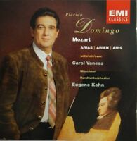 Placido Domingo W/ Carol Vaness ‎– Mozart Arias / Domingo / Kohn [ CD ALBUM ]