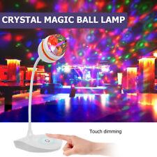3 LED RGB Rotating Disco Ball Projection Lamp Stage Lighting KTV DJ Party Lights