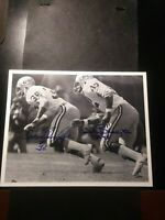 TWO GREEN BAY PACKERS TWO TEAM PLAYER AUTOGRAPH PICTURES W/COA!    DD691SSX11