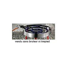 PAELLA PARAVENT INOX POUR BRULEUR ADAPTABLE DE 300 A 500 CODE 04142050