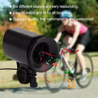 6Suoni Bicicletta Allarme altoparlante ciclismo bici  suoneria elettronica corno