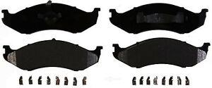Disc Brake Pad Set-Semi-Metallic Front ACDelco 17D477MH