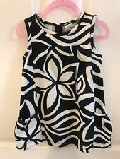 Girl's Carter's Black & White Dress Size 2t Preowned