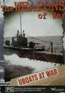 "War Documentary DVD "" WEAPONS OF WAR - UBOATS AT WAR "" Nazi Russian History"