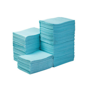 """Tattoo Table Blue Covers Clean Pad Disposable Lap Cloths 125 Sheets 18"""" x 13.5"""""""