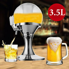 3.5L Cold Draft Beer Tower Beverage Dispenser Container Pourer Bar