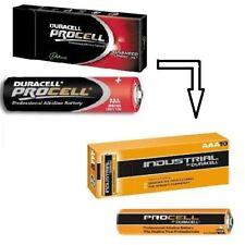 30X Micro AAA MN2400 Batterie Duracell Procell LR03 LR3 10er Karton batterien
