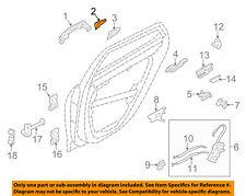HYUNDAI OEM 12-14 Azera Lock Hardware-Rear Door-Cover Left 836523V000V5G