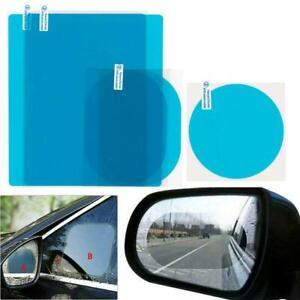 2pcs Rainproof Car Rearview Mirror Sticker Anti-fog Protective Shiel Film d I1X7