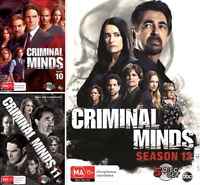 Criminal Minds - Season 10, 11 & 12  : NEW Series DVD