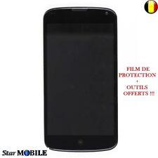ECRAN COMPLET LG GOOGLE NEXUS 4 E960  ;  LCD + VITRE TACTILE + CHASSIS PREMONTER