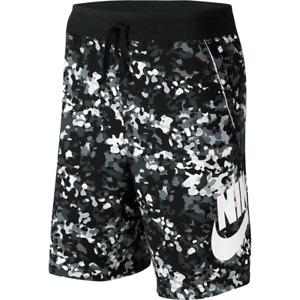 Nike Sportswear Alumni Camo Shorts AR3194-010 XS