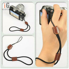 NEW camera wrist strap Hand strap Black for DSLR Micro SLR Camera Polaroid