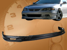 FOR 01-02 HONDA ACCORD 2 DR COUPE T-M PU FRONT BUMPER LIP SPOILER BODY KIT