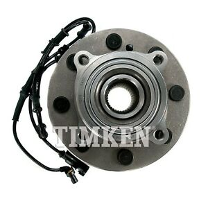 For Dodge Ram 1500 2500 3500 4WD Front Wheel Bearing & Hub Assy Timken HA590166