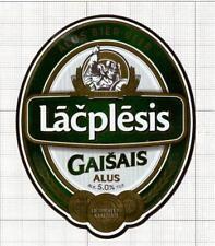 LATVIA SIA Cido Grupa,Liepaja Lacplesis viking beer label C1689