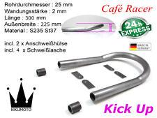 Cafe Racer Loop + Kick Up Ø25x2 Breite 225mm Länge 300mm Heckrahmen (2087439)