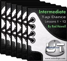 Intermediate Tap Dance Lessons 1-12 on DVD by Rod Howell (13 Hours)