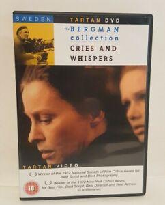Cries And Whispers (1972) DVD Liv Ullmann, Ingmar Bergman Eng-Sub UK R2 DVD