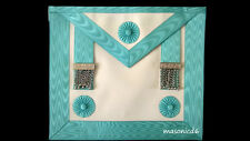 masonic regalia-CRAFT MASTER MASON (MM) APRON LAMBSKIN (BRAND NEW IN PACKAGING)