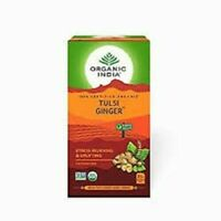 Organic India Tulsi Ginger Tea (25 tea bags) 25 Infusion Bags