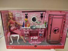 2008 Fashion Fever Barbie Dream Bathroom Set!