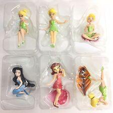 Disney Tinker Bell Friend Figure 6pcs Full Set F-foys Japan Silver Myst Rosetta