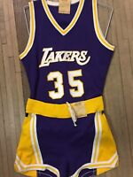 Vintage 80s Los Angeles Lakers Jersey &shorts  Rare Russell Athletic Sample