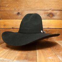 """GUS ~ BLACK ~3X Wool Felt HAT~ 4.5"""" Brim RODEO Cowboy Western Texas Hat Co"""