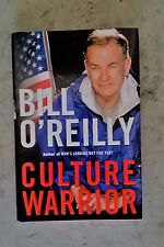 BILL O'REILLY SIGNED ~  Culture Warrior ~ 1st EDITION ~ FOX NEWS