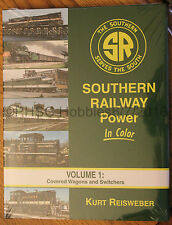 MORNING SUN BOOKS - SOUTHERN RAILWAY POWER In Color Volume 1 - HC 128 Pages