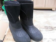groundwork outdoor boots lined insulated snow size 9 unused XU 510 black