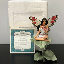 Bradford Exchange Sacred Dreams Fairy Native Enchantment 1st Figurine Mip w Coa