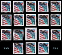 39 Lady Liberty Complete 3965-75 3975 & 3978-85 3985b Set of 18 MNH - Buy Now