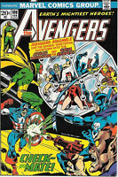 The Avengers Comic Book #108, Marvel Comics Group 1973 FINE+