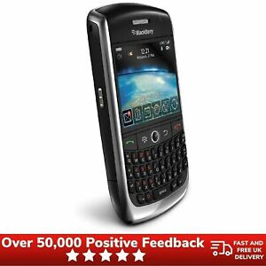 Blackberry Curve 8520 Unlocked Azerty Keyboard Mobile Phone - Black