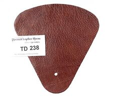 Ponte Chestnut Scrap Leather Craft Piece aprox. .25 sqft Td238